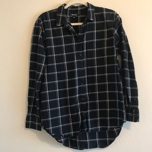 Madewell Flannel - size small